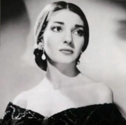 """Maria Callas in """"La Traviata"""""""
