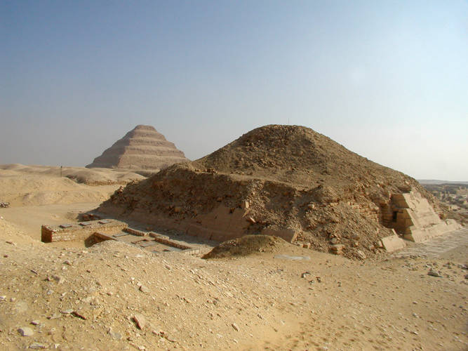 Two pyramids at Saqqara
