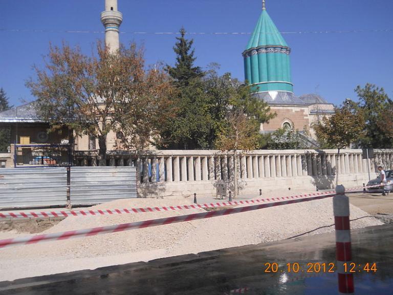 Mevlana's tomb