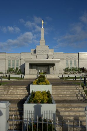 Temple in Suva, currently about to be rededicated