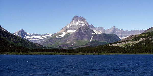 Glacier National Park's Swiftcurrent Lake