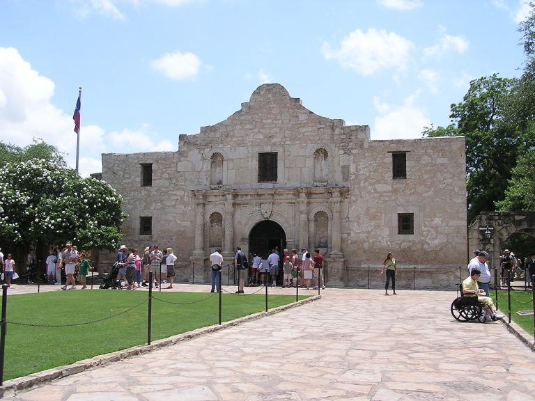 """San Antonio's """"Alamo"""" mission"""