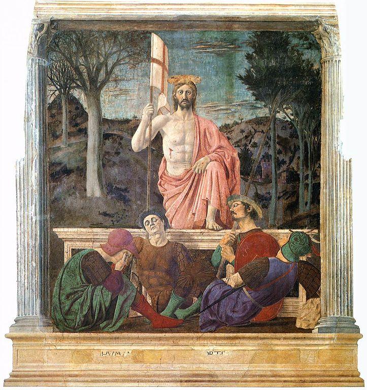 Della Francesca painting of resurrection