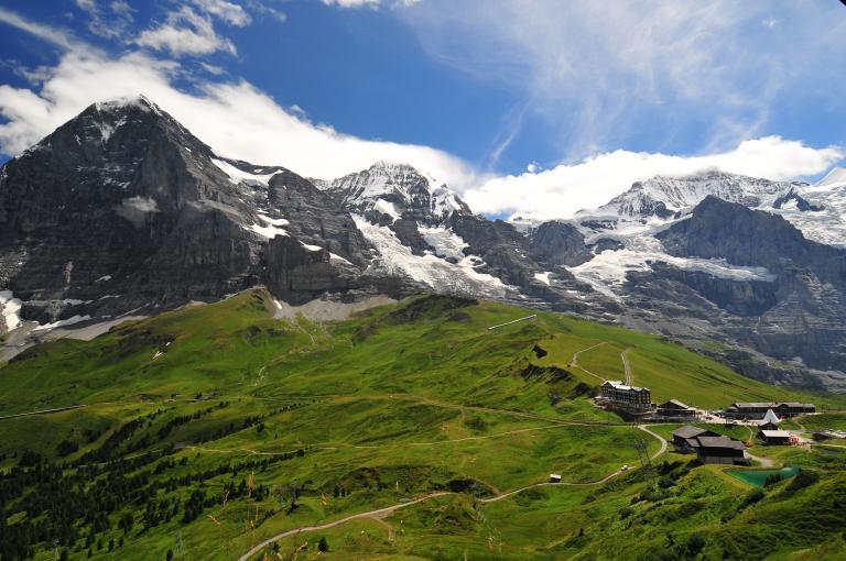 Berner Oberland Eiger Mönch Jungfrau