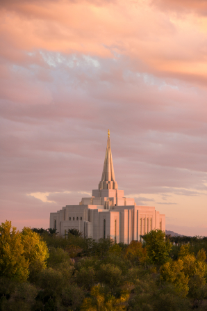 One of 3 temples in the greater Phoenix area