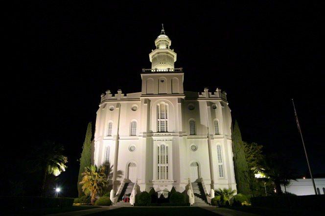 Utah's first temple
