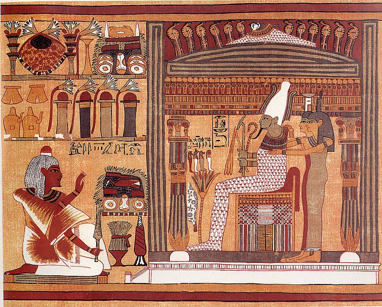 From the papyrus of Ani