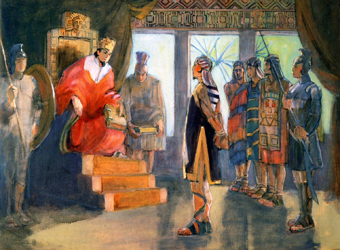 Teichert, Limhi, and Ammon