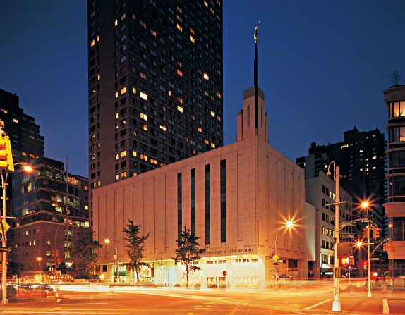 The first temple in New York City
