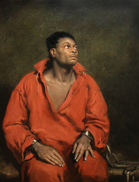 Early 19th century painting of slave