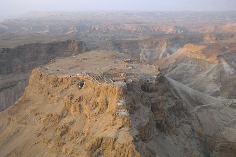 Masada from the air