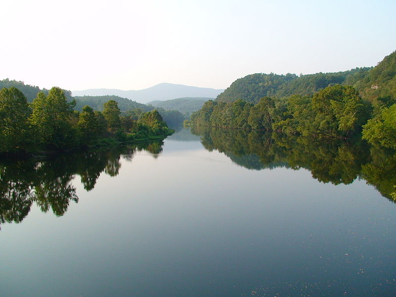 Formerly known as the Powhatan River