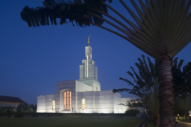 The temple in Accra Ghana