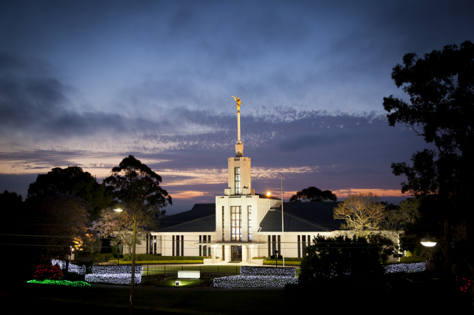 Australia's 1st temple, but not its last