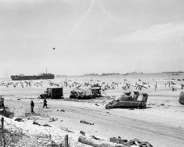Normandy, 72 years ago today