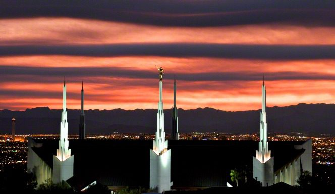 Nevada's first temple