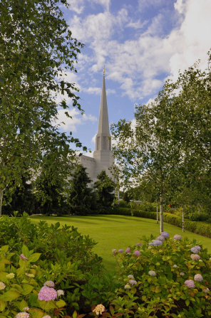 Chorley's first Mormon temple
