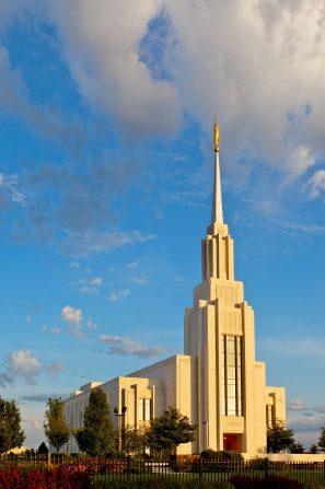 Temple in Twin Falls