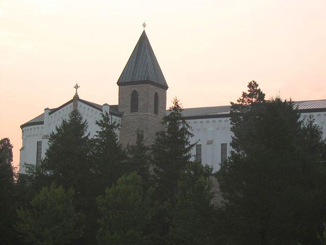 Thomas Merton's monastery