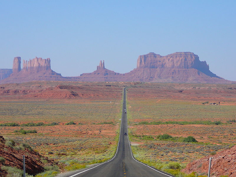 Part of Monument Valley is in Utah