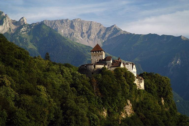 The castle of Vaduz