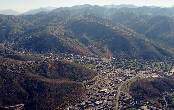 Park City from above
