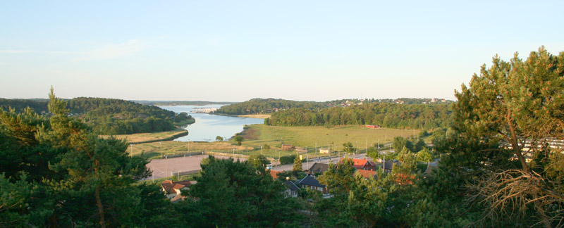 The countryside of Västra Frölunda, Sweden