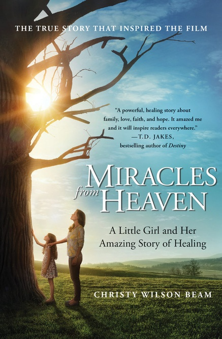 """Miracles from Heaven"" movie poster"