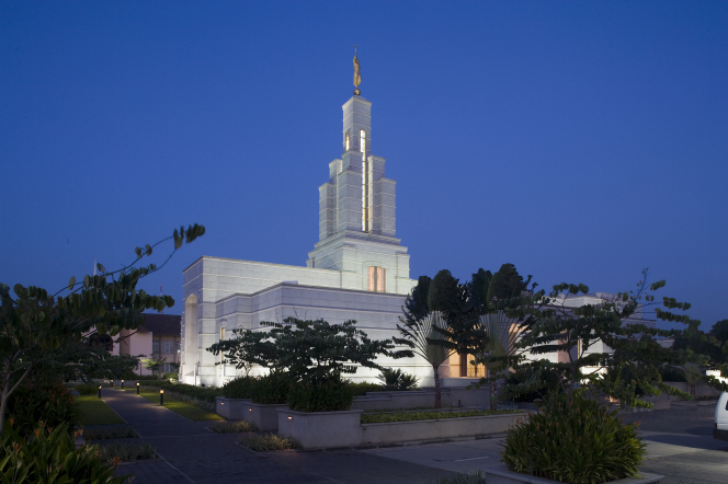 Ghana's first LDS temple