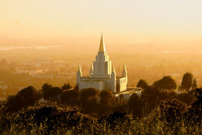 California's second temple