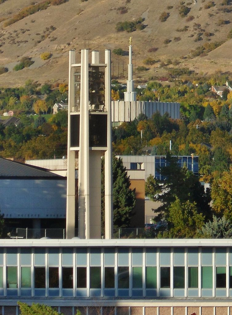 Bell Tower and Provo Temple