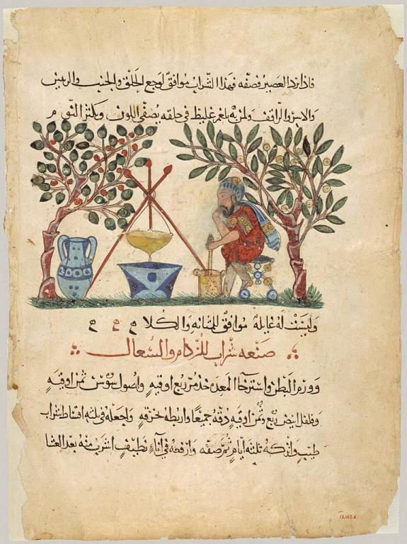 Arabic materia medica