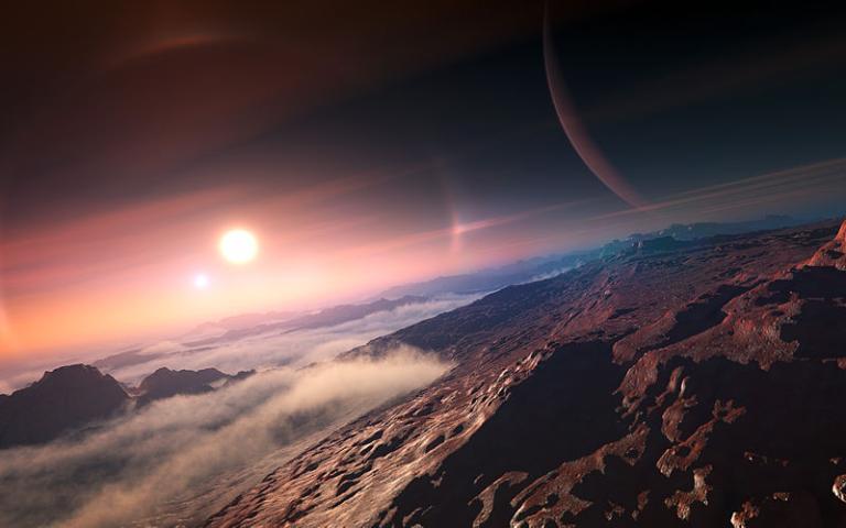 IAU image of exoplanet