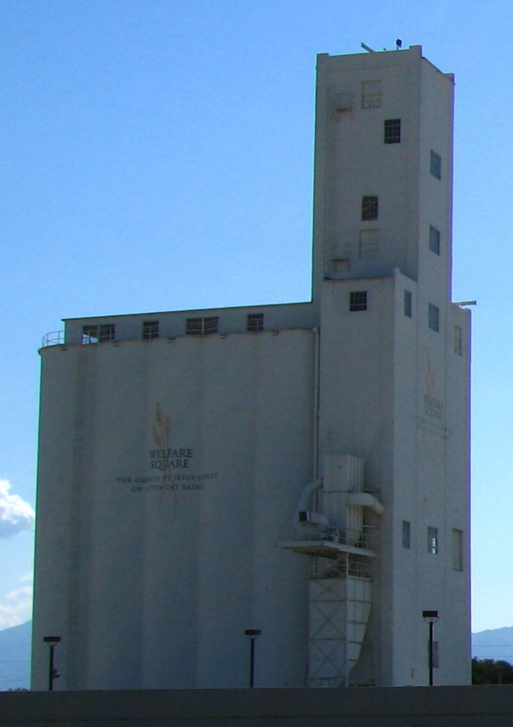 A granary at Salt Lake City's Welfare Square