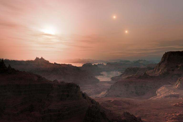 ESO image of exoplanet