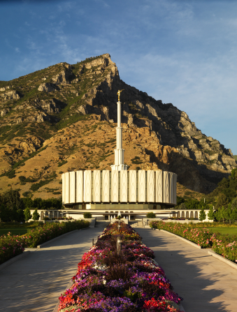 Provo's first temple
