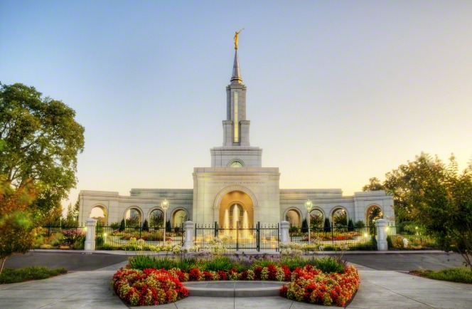Sacramento's temple