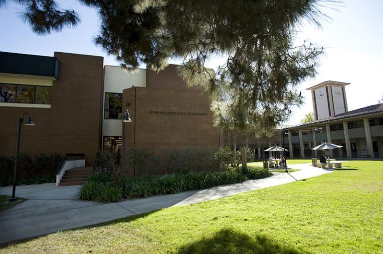 On the CGU campus
