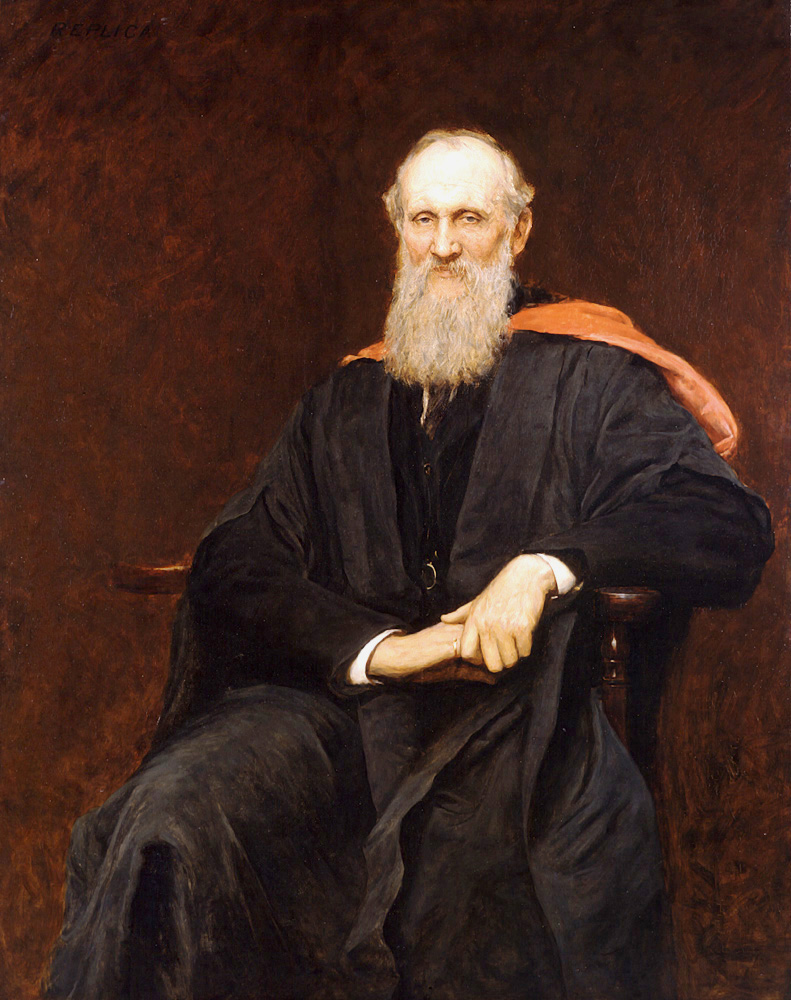 A painting of Lord Kelvin