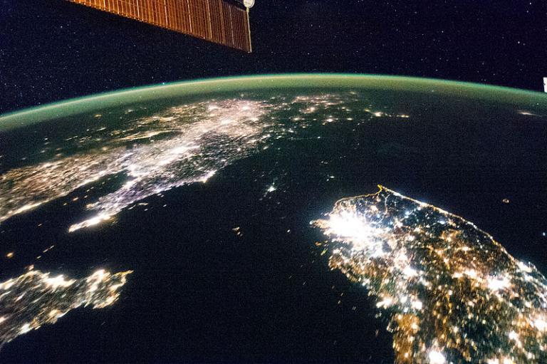 NASA Korean Peninsula
