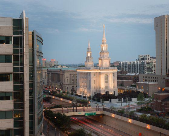 The new temple in Philadelphia