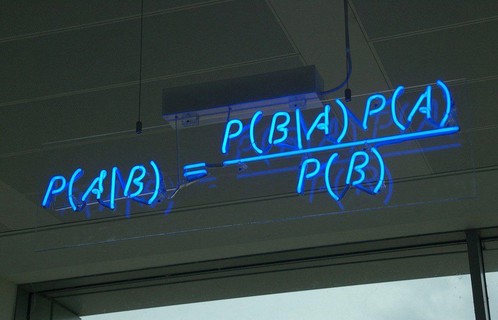 Mr. Bayes's theorem