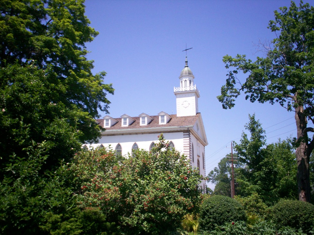 Kirtland Temple photo from north