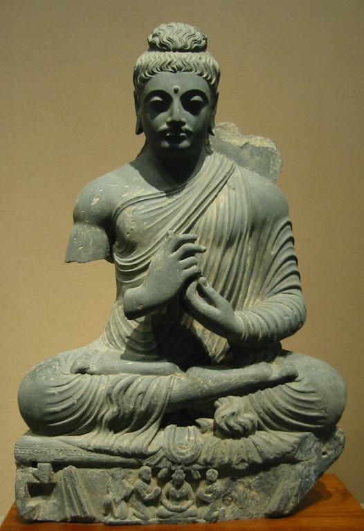 Buddha statue, now in Tokyo