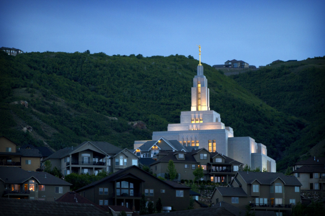 Another temple in the Salt Lake Valley