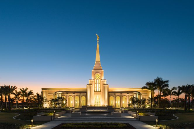 Florida's second LDS temple