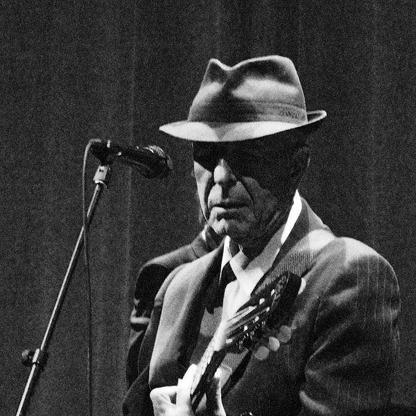 A 2008 photo of Leonard Cohen