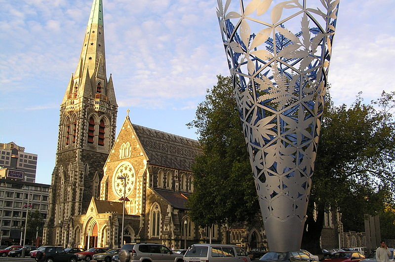 Christchurch Cathedral, in New Zealand