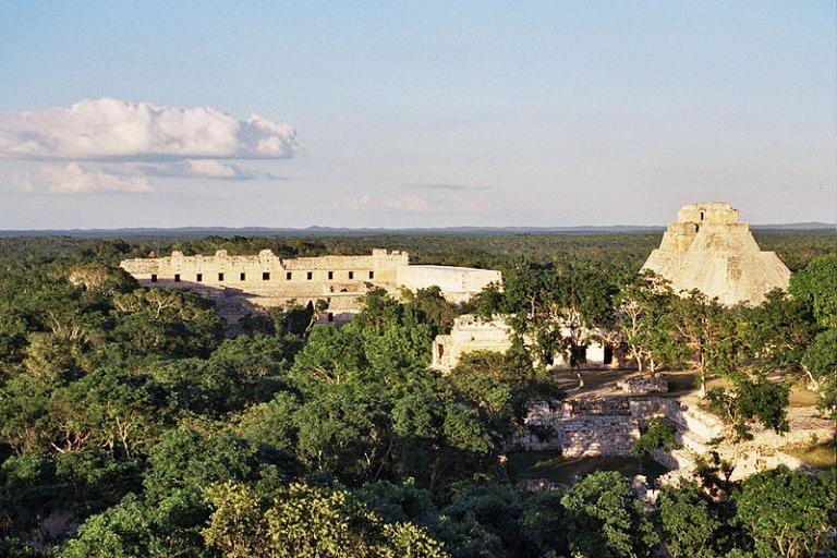 Maya ruins in Mexico