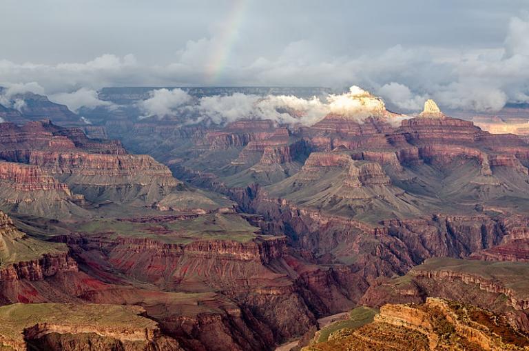 Hopi Point view of Arizona's Grand Canyon